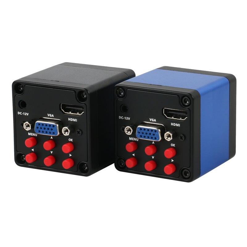 HDMI VGA 1080P SONY IMX307 industrie vidéo Microscope caméra C monture lentille pour téléphone tablette PC PCB IC observer soudure réparation