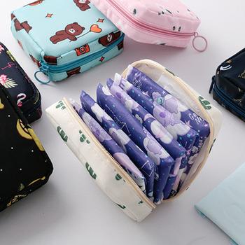 Kobiety Tampon worek do przechowywania podpaska higieniczna serwetka torby kosmetyczne organizator panie kosmetyczka dziewczyny Tampon Holder Organizer tanie i dobre opinie hoomall CN (pochodzenie) DO SZAFY Torby do przechowywania Ekologiczne Na stanie Oxford Trójwymiarowe SQUARE Podróży Tampon Storage Bag