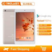 Teclast P80 Pro 3GB RAM 32GB ROM 8 นิ้ว Android 7.0 MTK8163 Quad Core 1.3GHz แท็บเล็ตพีซี dual Dual กล้อง WiFi 1920*1200 GPS