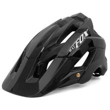 BATFOX Cycling Helmet All-terrai MTB Bicycle Bike Sports Safety Black Helmet In-mold OFF-ROAD Super Mountain Bike Cycling Helmet gub k70 mountain bike cycling helmet black