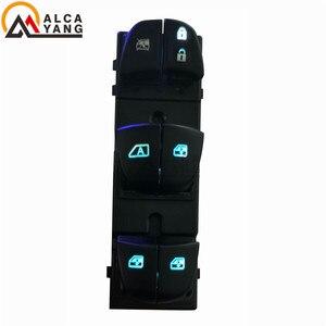 Image 5 - 1 conjunto/4 pces janela levantador interruptor do lado do motorista para nissan qashqai/altima/sylphy/tiida/x trail vermelho/branco/gelo luz azul