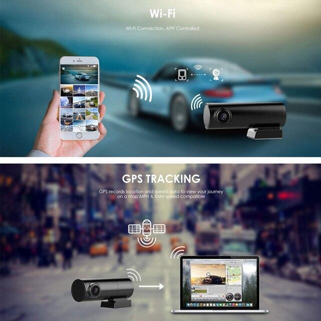 Mini Hidden Car Dash Cam DVR with WiFi Dual Lens Car Camera dash cam wifi dual dash cam dual wifi car dash camera wifi dash cam 2