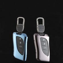 Alunimnum Alloy Car Key Case Cover Shell For Lexus ES200 ES260 ES300h LS350 LS550h