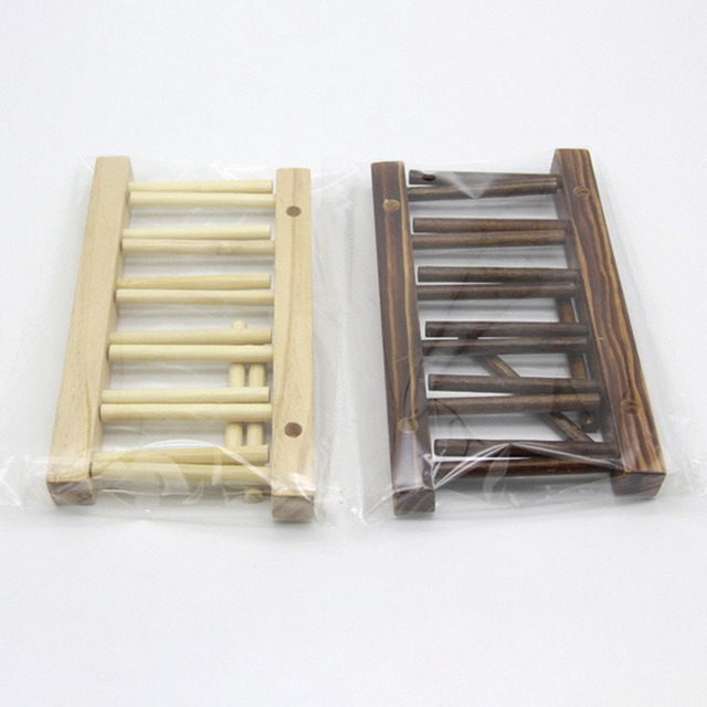 1PC Wooden Dish Drain Rack Kitchen Lid Holder Organizer Beautiful Domestic Drying Shelf Book Cups Display Sink Stand Drainer 6