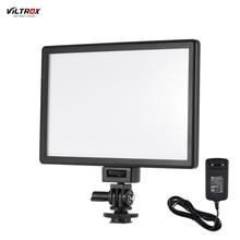 Viltrox l116t ultra fino led luz de vídeo fotografia luz de preenchimento 3300k 5600k cri95 + para câmera canon nikon sony dslr