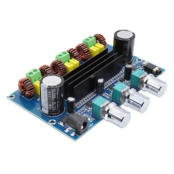 TPA3116 Digital Power Amplifier Board 2.1 Channel Stereo Class D Sound Amplifiers Bluetooth 5.0 Audio Bass Subwoofer Amplifier tda7850 high power car amplifier board analog circuit btl class ab four channel stereo subwoofer 4 50w bluetooth 5 0 amplifiers
