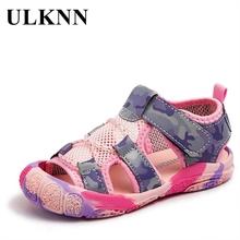 ULKNN Children Camouflage Spots Sandals 2021 Summer Boys Anti-kick Beach Shoes Soft Sole Girls Mesh Non-slip Sandals Size 21-30 cheap Rubber 25-36m 7-12m 13-24m 4-6y 14 5cm 19 5cm 17cm 17 5cm 18cm 16cm 15cm 18 5cm 19cm CN(Origin) Gladiator unisex Anti-Slippery