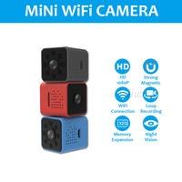 SQ23 WiFi Mini Camera Small Gizli Kamera HD 1080P Video Camcorder Micro Night Vision Camaras DVR Recorder Support Hidden TF Card
