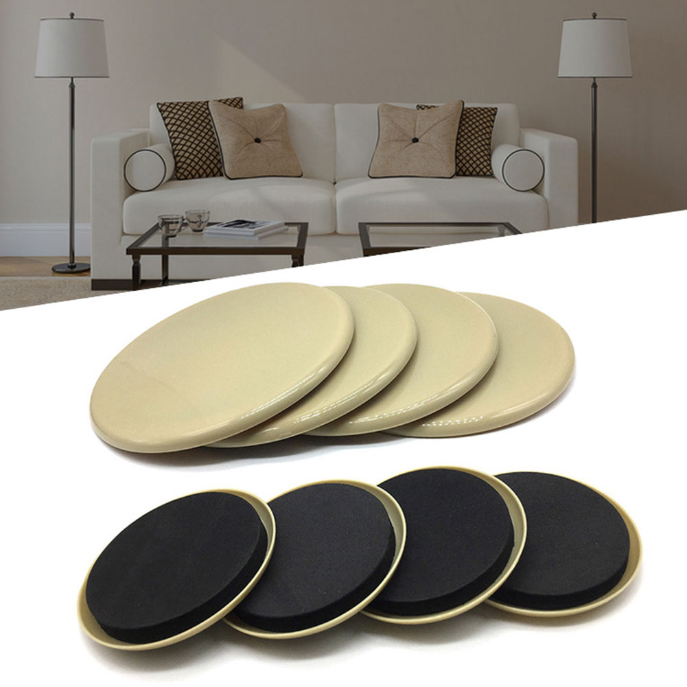 8pcs Labor Saving Sturdy Protect Carpet Quickly Heavy Appliances Furniture Sliders Glider Noise Reduction Reusable Moving Pad