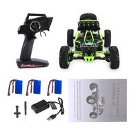 Wltoys XKS 1/12 2.4G 4WD High Speed Electric Brushed Crawler Desert Truck RC Offroad Buggy Vehicle with LED Light