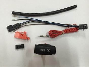 SWIEES nowy przycisk przełącznik ostrzegawczy ciśnienia w oponach TPMS z zestaw uprzęży dla Octavia 1ZD 927 127 1ZD927127 tanie i dobre opinie China FRONT plastic Pressure Warning Switch 0 275