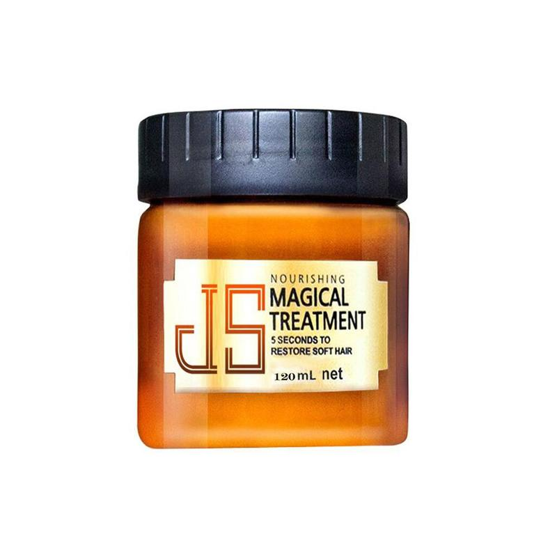 Magical Keratin Repair Hair Mask Treatment For Damaged Hair Care Ointment 5 Seconds Moisturizing Hair Conditioner Dry Frizz image