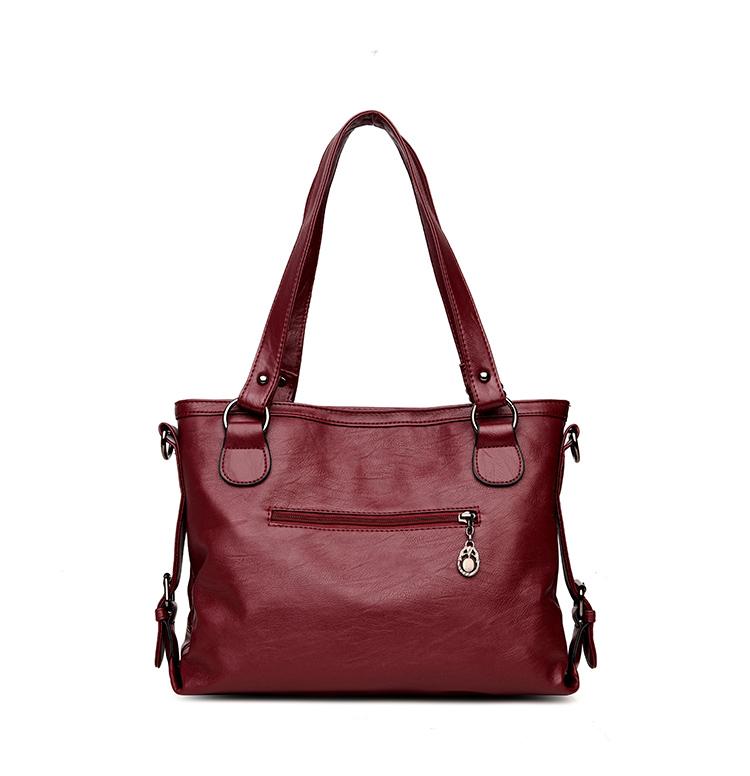 VMOHUO Messenger Bag Women's Ladies Hand Bag Women Leather Handbag Casual Tote Bag Bolsas Femininas Female Shoulder Bag (20)