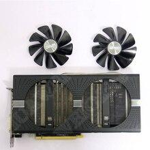 SAPPHIRE AMD Radeon Video Karte Lüfter NEUE NITRO +/PULS RX470 RX570 RX480 RX580 RX590 4G/ 8G Grafikkarte Kühler Fans