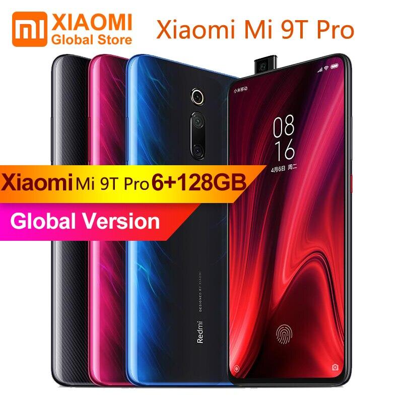 En Stock nouvelle Version mondiale Xiao mi mi 9T Pro (Red mi K20 Pro) 6GB RAM 128GB ROM téléphone Mobile Snapdragon 855 Octa Core 48MP Cam