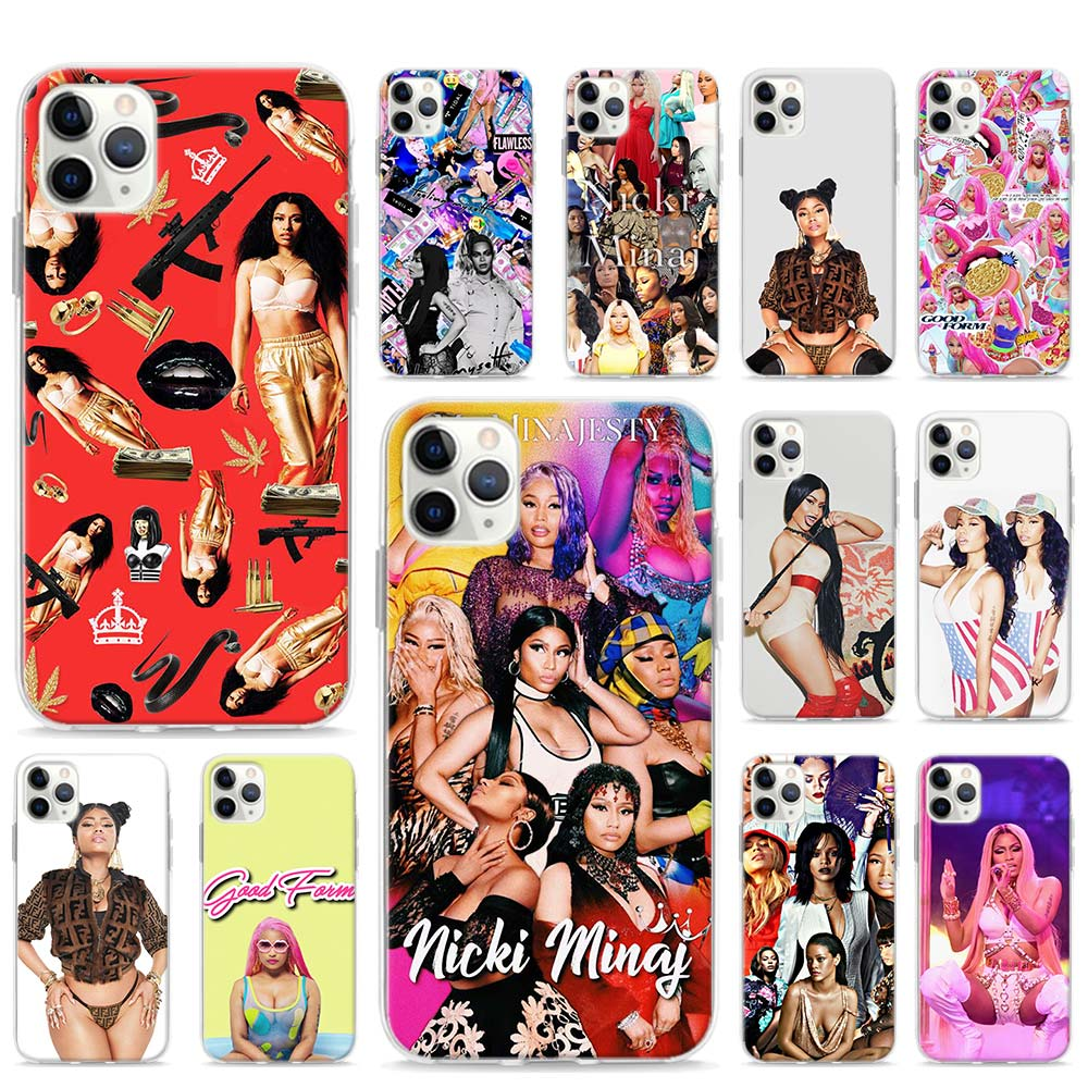 Queen Nicki Minaj <font><b>Sexy</b></font> <font><b>Case</b></font> For Apple <font><b>iPhone</b></font> SE 2020 11 Pro Max XR X XS 6 <font><b>7</b></font> 8 SE2 Plus Phone Cover Shell image