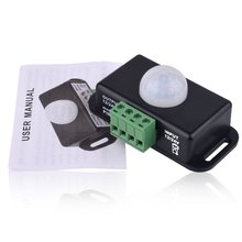 цена на Body Infrared PIR Motion Sensor Switch DC 12V/24V For LED Light Strip Automatic