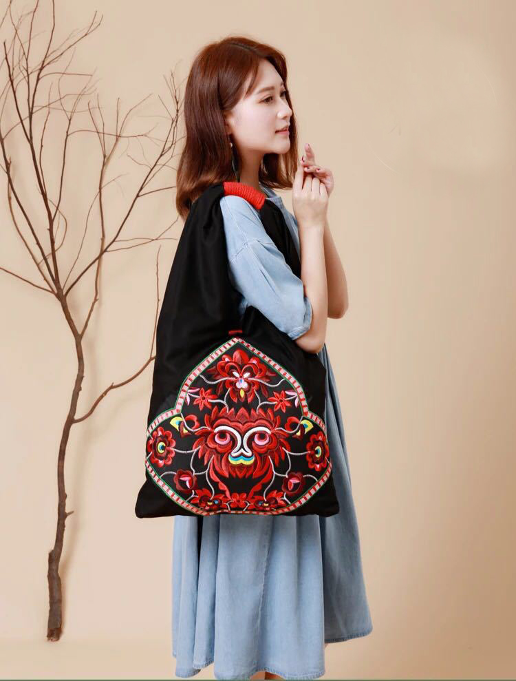 bohemian bag bags women shoulder bag women's handbags (1)