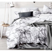 Marble Pattern Bedding Set Nordic Frosty Style Duvet Cover Set And Pillowcases Comforter Bedding Sets nightmare before christmas 4pcs bedding set duvet cover bedspread pillowcases