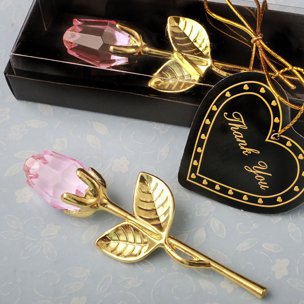 Вуали, подарок на день Святого Валентина, Хрустальный цветок розы, свадебные сувениры и подарки, домашний стол, украшение на День святого Ва...