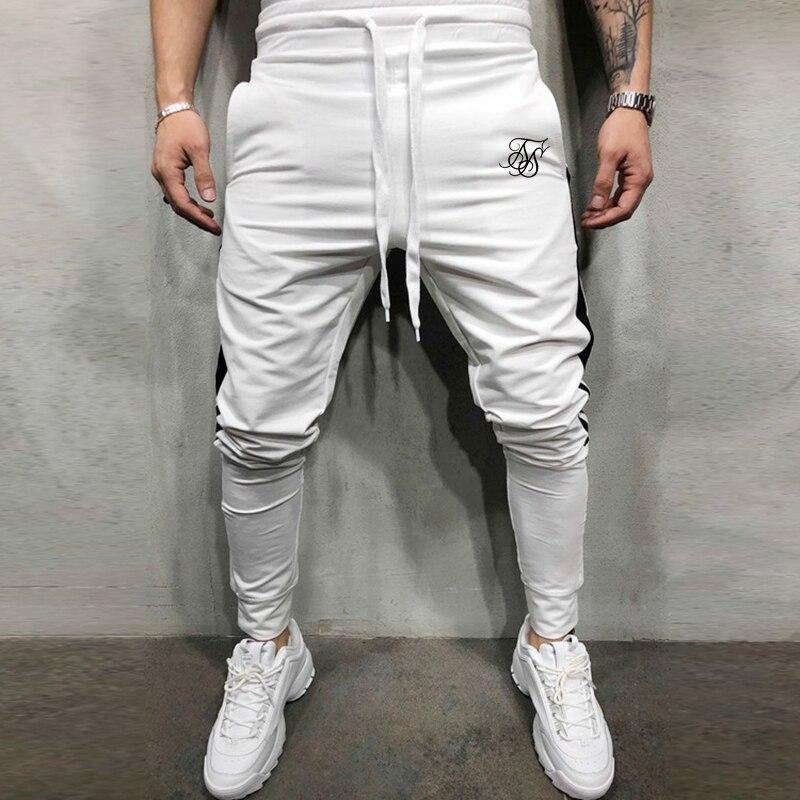 Мужские спортивные тренировочные штаны SikSilk, штаны для бега, штаны для тренажерного зала, мужские джоггеры, хлопковые тренировочные штаны, о...