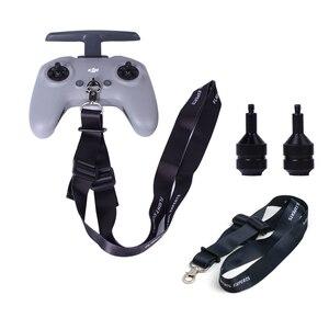 Image 1 - Joystick in lega di alluminio FPV Drone telecomando pollice bilancieri cordino da collo cordino per accessori DJI FPV