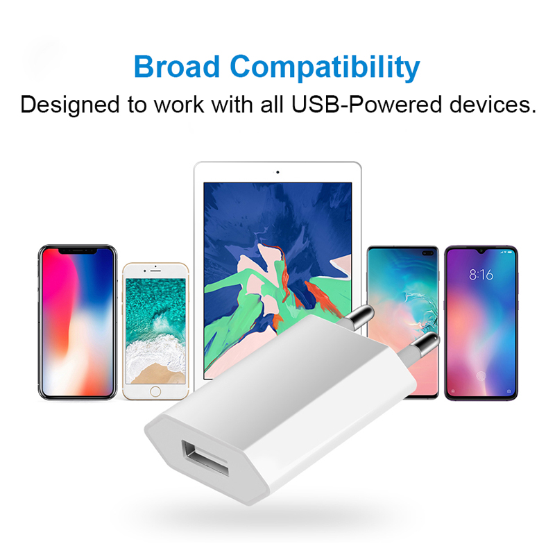 Image 5 - Hot Selling High Quality European EU Plug USB AC Travel Wall Charging Charger Power Adapter For Apple iPhone 6 6S 5 5S 4 4S 3GS-in Mobile Phone Chargers from Cellphones & Telecommunications