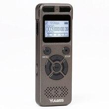 Yulass 8 ギガバイトプロフェッショナルオーディオレコーダービジネスポータブルデジタルボイスレコーダーusbサポート多言語、tfカード 64 ギガバイト