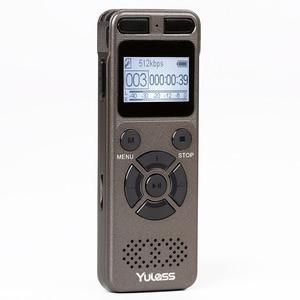 Image 1 - Yulass 8GBเครื่องบันทึกเสียงระดับมืออาชีพแบบพกพาเครื่องบันทึกเสียงดิจิตอลUSBสนับสนุนหลายภาษา,tf Card 64GB
