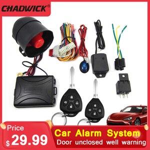 CHADWICK M802-8123 Keylessentry 2 шт. пульт дистанционного управления аварийная система автомобильный черный Центральный замок безопасность сигнализаци...