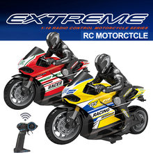 Car-Moto-Toy Motorcycle Electric Racing for Kid Ducati 1:10-Scale 4-Channels Vehicle
