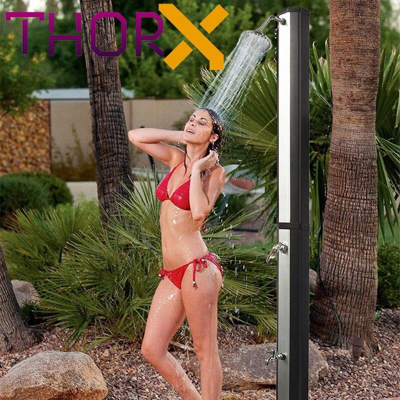 Solar shower ThorX TR35OX silver garden shower 35 L - 2