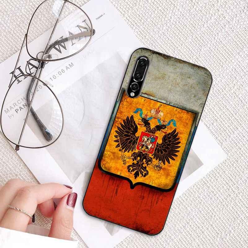 Babaite アルメニアアルバニアロシア旗エンブレムコートの腕電話ケース huawei 社 P20 P30 P20Pro P20Lite P30Lite PSmart P10 9Lite