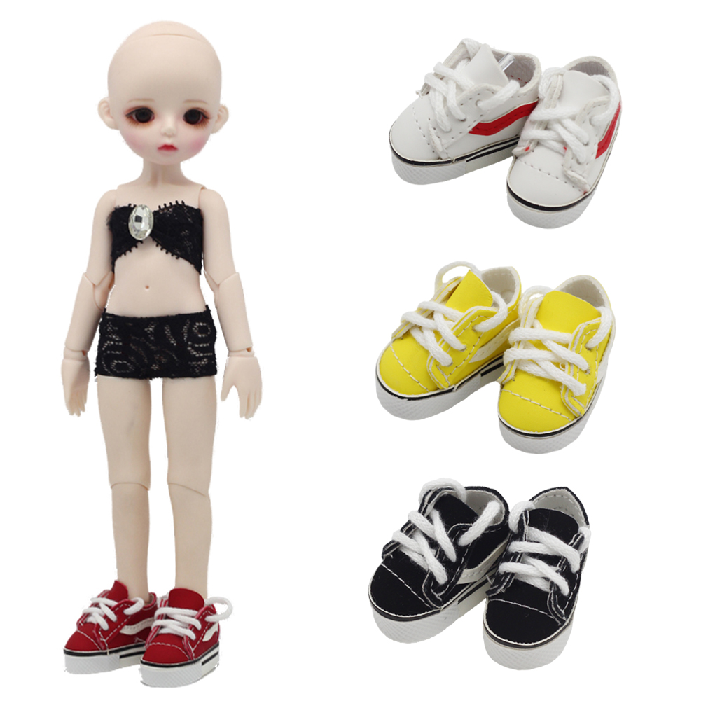 BJD 1/6 4CM Doll Shoes For Blythes Realfee Dolls Toy,Shoes For Blyth Accessories For Dolls Slipper For 15cm EXO KPOP Dolls