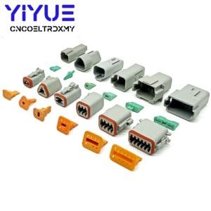 Image 5 - 225 stücke Deutsch DT automotive anschlüsse kit DT06/DT04 2/3/4/6/8/12 Pin + 16 18AWG Crimp Terminals + entfernung werkzeug 0411 336 1605