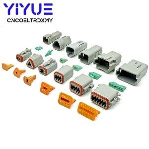 Image 5 - 225pcs Deutsch DT automotive connectors kit DT06/DT04 2/3/4/6/8/12 Pin + 16 18AWG Crimp Terminals + removal tool 0411 336 1605