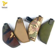 Holster Gun-Case Airsoft Tactical Totrait Right Cloth Combat Handed Oxford Utility Nylon