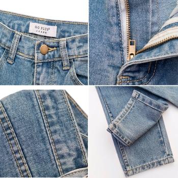 2020 Harem Pants Vintage High Waist Jeans Woman Boyfriends Women's Jeans Full Length Mom Jeans Cowboy Denim Pants Vaqueros Mujer 8