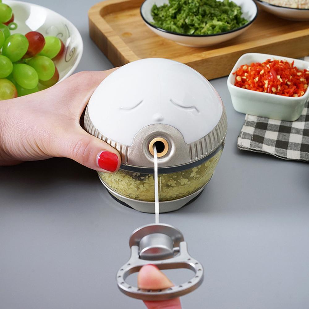 Multifunctional manual Hand Pulling Meat Grinder Vegetable Food Processor Shredder Fruit Meat MINI Chopper Kitchen Tools