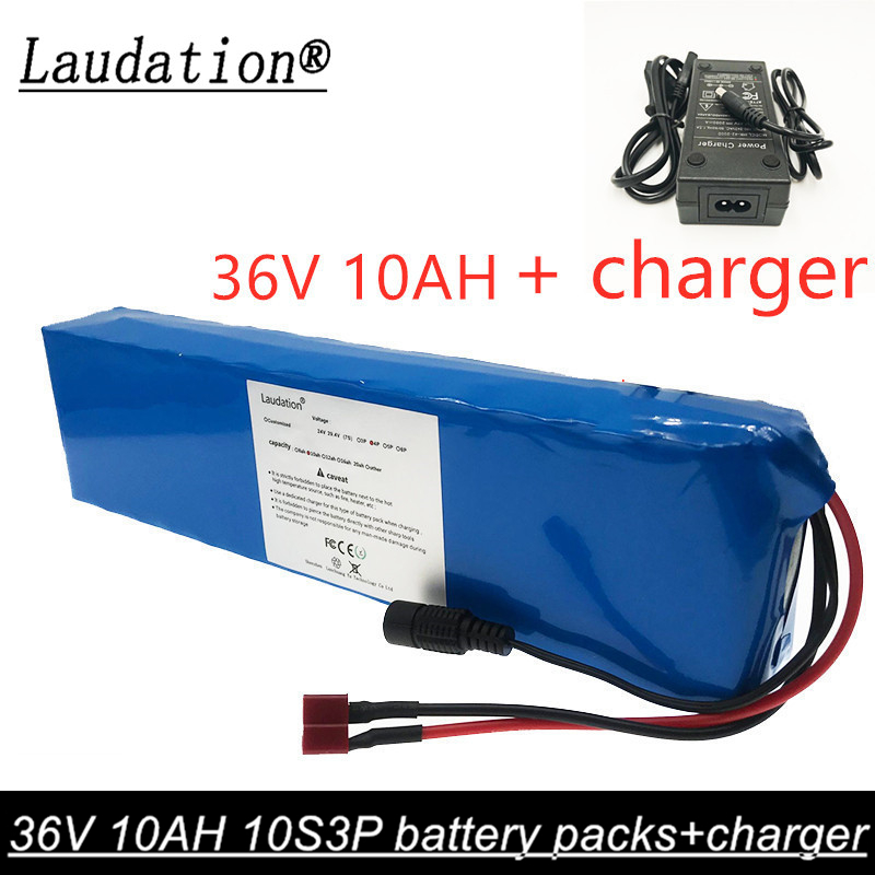 NEW 36V 9.6Ah 10Ah 600watt 10S3P For NCR18650BD lithium ion battery pack 20A BMS For <font><b>xiaomi</b></font> <font><b>mijia</b></font> <font><b>m365</b></font> <font><b>pro</b></font> ebike bicycle scoot image