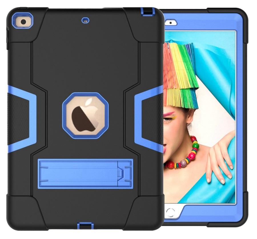 BB Purple New Baby Safe Shockproof Armor Case For Apple iPad 10 2 2019 iPad 7 7th Generation