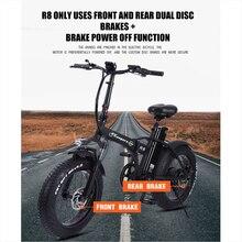 Электрический велосипед, 500 Вт, 48 В, 15 Ач, литиевая батарея, 4,0 жирные шины, электрический велосипед, пляжный прогулочный велосипед, бустер, ве...