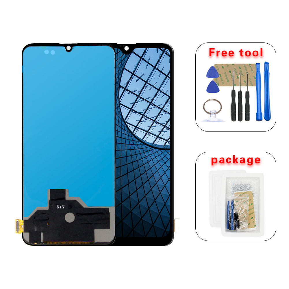 6.41'' 1+6T LCD For Oneplus 6T A6010 A6013 LCD Display  Touch Screen Digitizer Assembly
