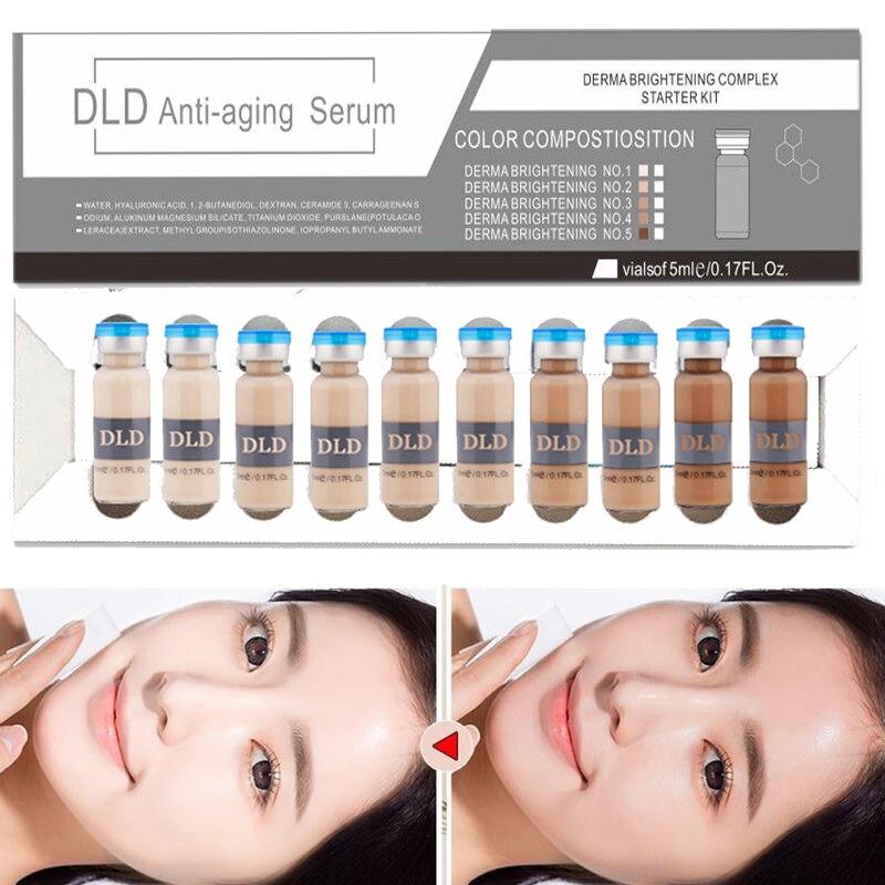 5ml BB Cream Glow  Korean Cosmetics DLD Serum Meso White Brightening Serum Ues For BB Cream Machine Whitening Acne Anti-Aging