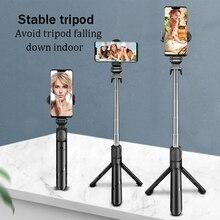 Monopod Gift Travel Extendable Tripod Durable Lightweight Universal Mobile Phone Portable Shutter Bluetooth Remote Selfie Stick