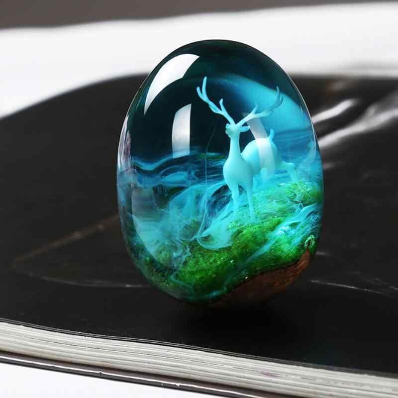 2020 جديد 1 قطعة نمط مختلف الراتنج مادة الأيائل الصغيرة الايبوكسي قالب صنع المجوهرات ملء للمجوهرات لتقوم بها بنفسك
