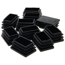 Pipe-Plugs Plastic Furniture-Hole-Cover Household-Hardware Square Mromax 20--50/25--38mm