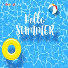 Yeele Summer Pool Party Photocall Ball Swimming Cool Photography Backdrops Personalized Photographic Background For Photo Studio