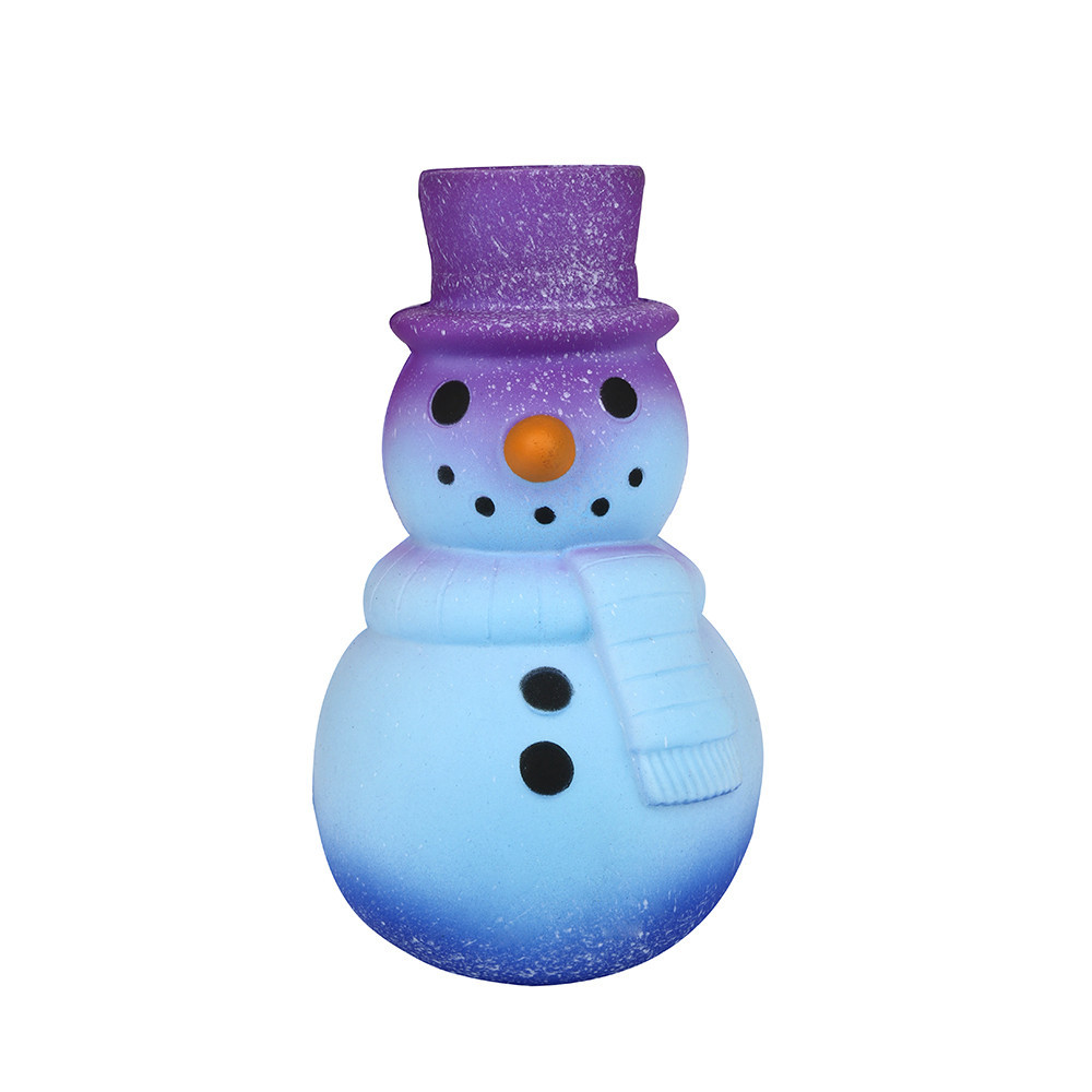 Galaxy Snowman Slow Rising Cartoon Squeeze Child Toy Stress Relief Fun Toys Gift For Children Creative Anti-anxiety Toys #B
