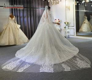 Image 4 - رداء مارياج فام 2020 فستان زفاف دانتيل كامل فساتين زفاف للعروس